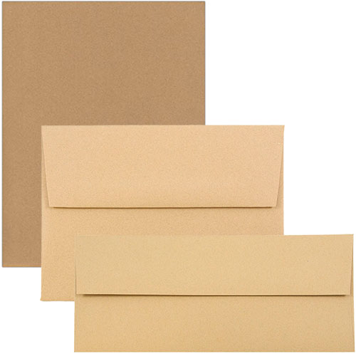 Ginger Passport Recycled Envelopes & Paper
