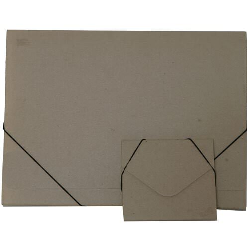 Brown Kraft Elastic Closure Portfolio Envelopes