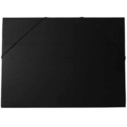 Black Kraft Elastic Closure Portfolio Envelopes