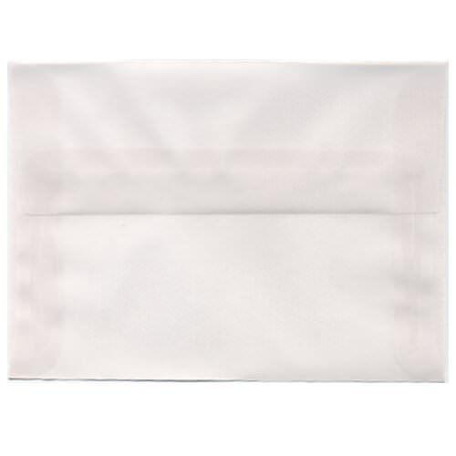 White Translucent Vellum Envelopes & Paper