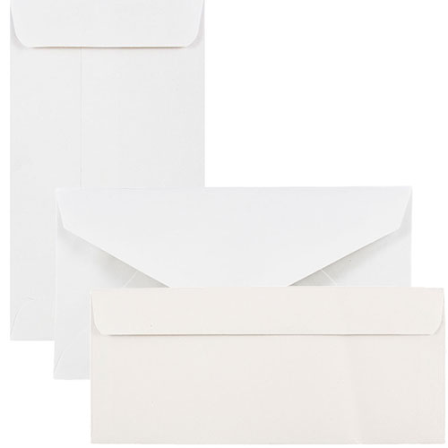 White Commercial Style Envelopes
