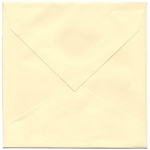 Ivory Square Envelopes