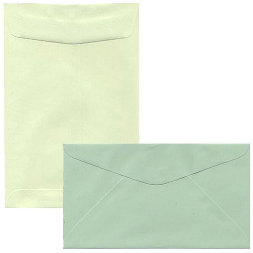 Light Green Envelopes