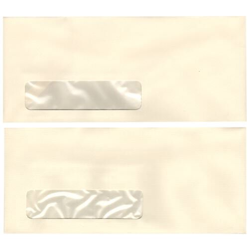 Ivory Window Display Envelopes