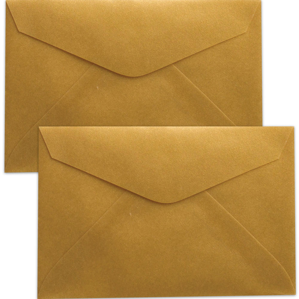 Gold Tiny Envelopes