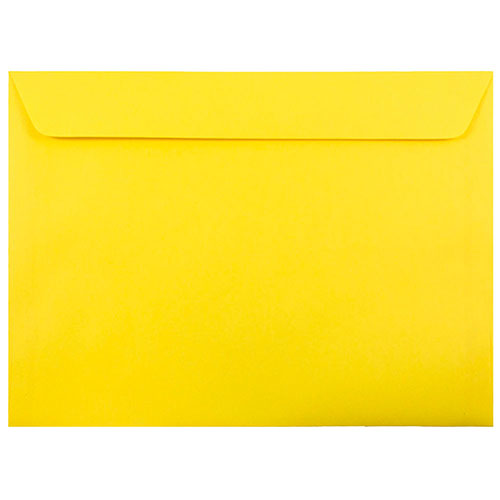 Yellow Large Paper Booklet Envelopes