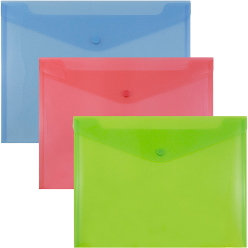 Original Plastic Snap Closure Envelopes