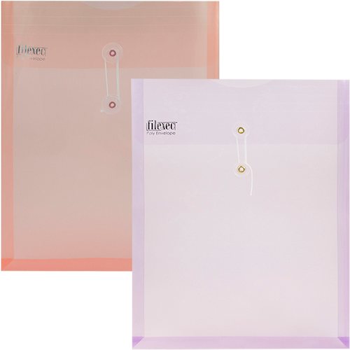Frosted Scratch Resistant Button String Envelopes