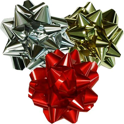 Giant Gift Bows - 13 Inch Diameter
