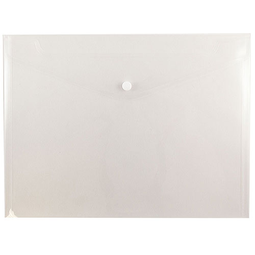 Clear Plastic Snap Closure Envelopes