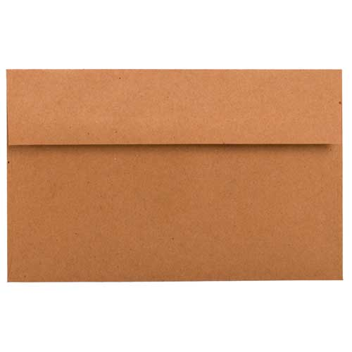 Brown A10 Envelopes - 6 x 9 1/2