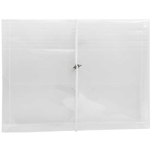 Clear Plastic Elastic Closure Envelopes