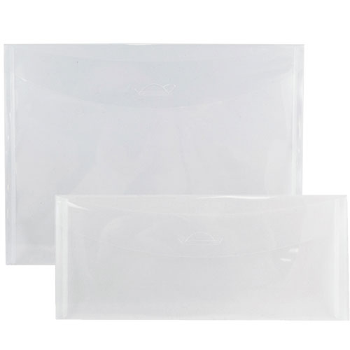 Clear Plastic Tuck Flap Closure Envelopes