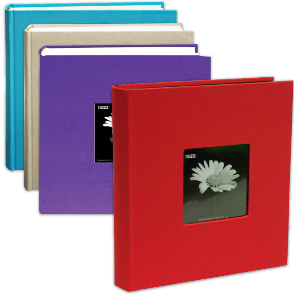 Fabric Covered Photo Albums