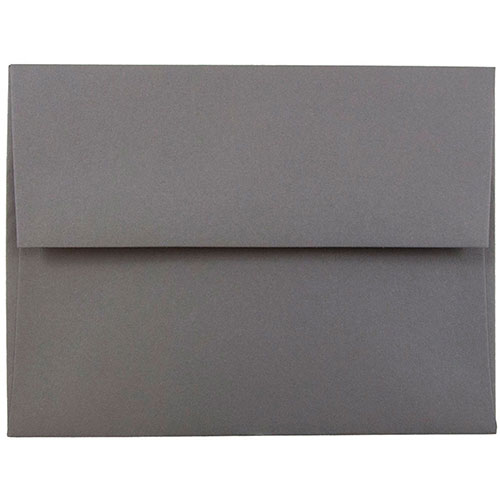 Silver & Grey A2 Envelopes - 4 3/8 x 5 3/4