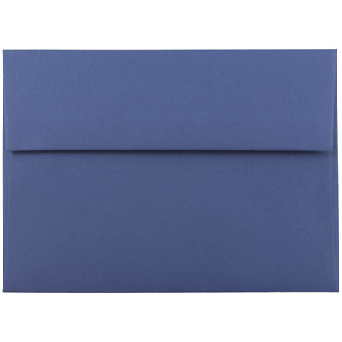 Blue A7 Envelopes - 5 1/4 x 7 1/4