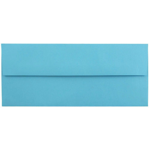 Blue #10 Envelopes - 4 1/8 x 9 1/2