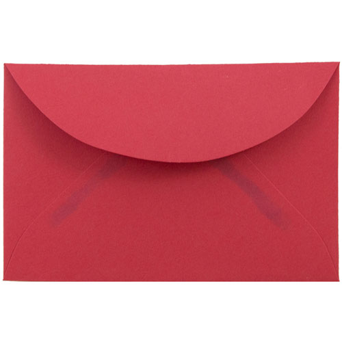 Red 3drug Envelopes - 2 5/16 x 3 5/8