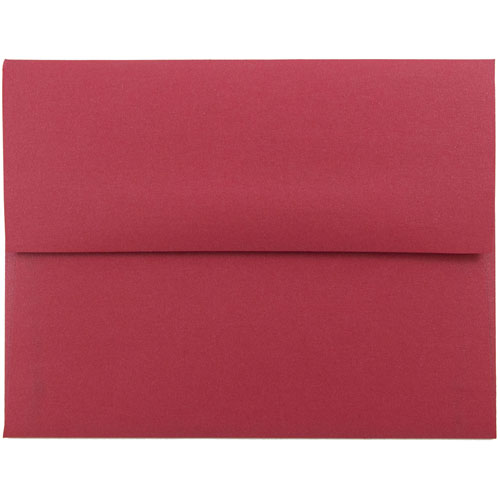 Red A2 Envelopes - 4 3/8 x 5 3/4