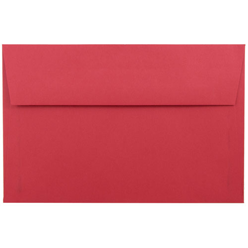 Red A9 Envelopes - 5 3/4 x 8 3/4