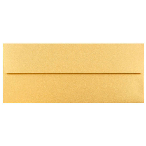 Gold #10 Envelopes - 4 1/8 x 9 1/2