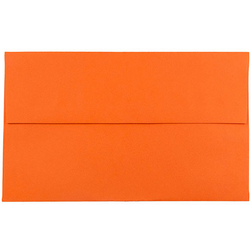 Orange A10 Envelopes - 6 x 9 1/2