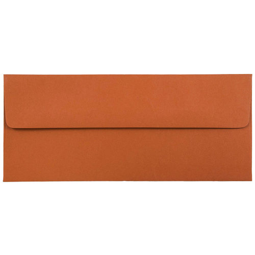 Orange #10 Envelopes - 4 1/8 x 9 1/2