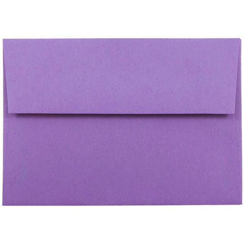 Purple 4bar A1 Envelopes - 3 5/8 x 5 1/8
