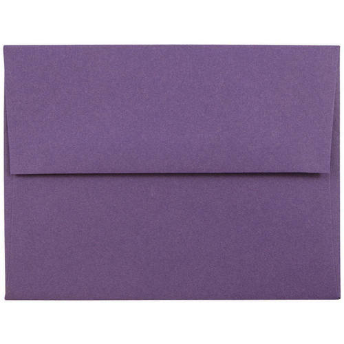 Purple A2 Envelopes - 4 3/8 x 5 3/4