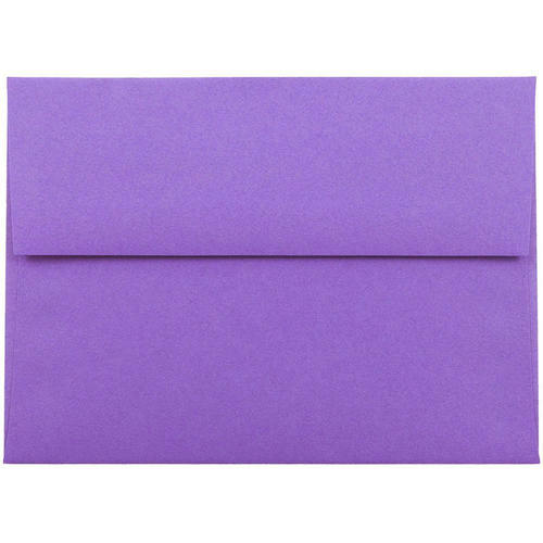Purple A6 Envelopes - 4 3/4 x 6 1/2