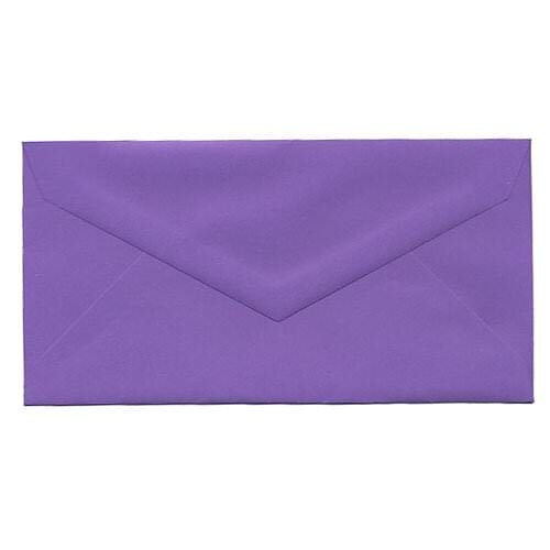 Purple Monarch Envelopes - 3 7/8 x 7 1/2