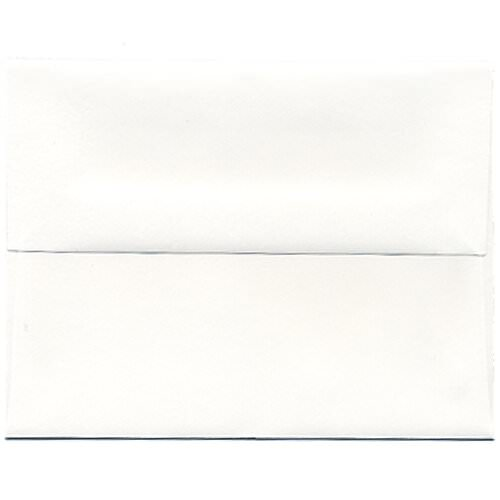 White A2 Envelopes - 4 3/8 x 5 3/4