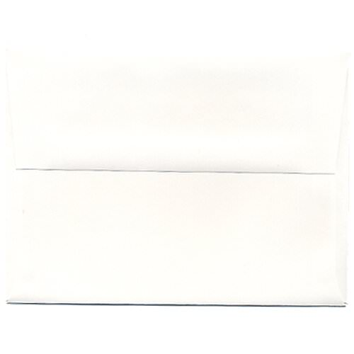 White A6 Envelopes - 4 3/4 x 6 1/2
