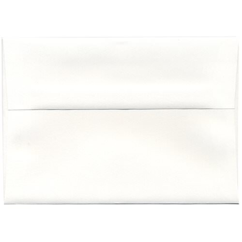 white a7 envelopes 5 25 x 7 25 jam paper