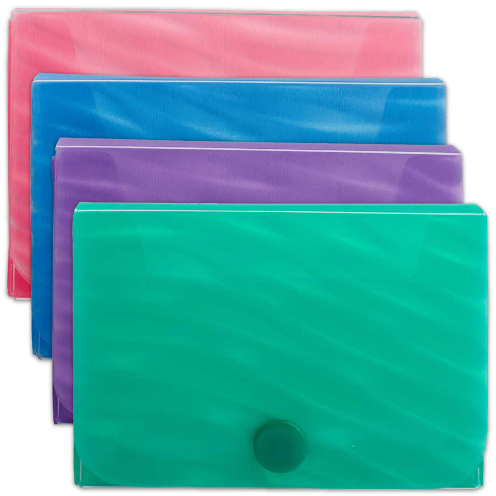 Wave Business Card Cases - 3.5 x 2.5 x 1