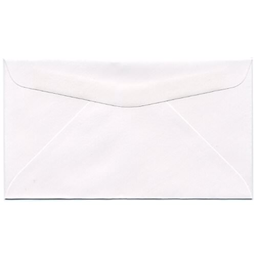 White #6 3/4 Envelopes - 3 5/8 x 6 1/2