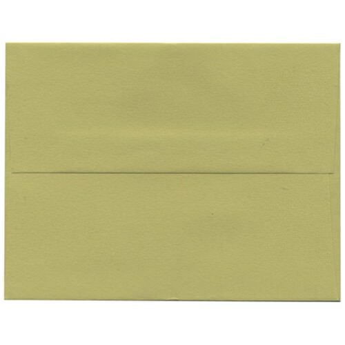 Green A2 Envelopes - 4 3/8 x 5 3/4
