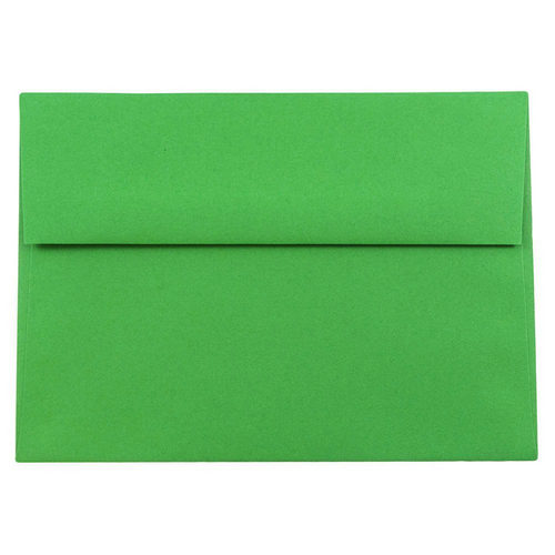 Green A8 Envelopes - 5 1/2 x 8 1/8