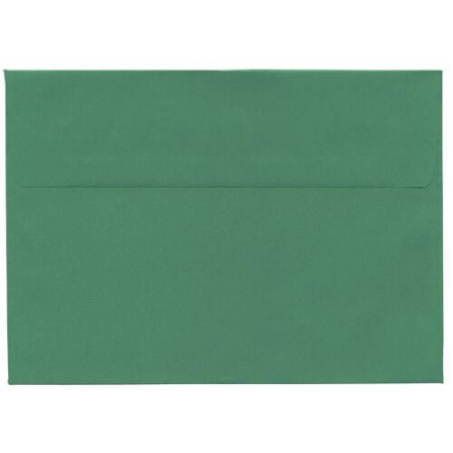 Green 5 7/8 x 8 1/4 Envelopes