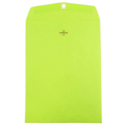 Green 9 x 12 Envelopes