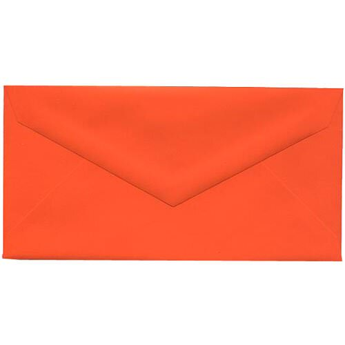 Orange Monarch Envelopes - 3 7/8 x 7 1/2