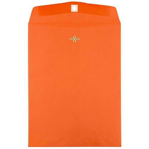 Orange 9 x 12 Envelopes