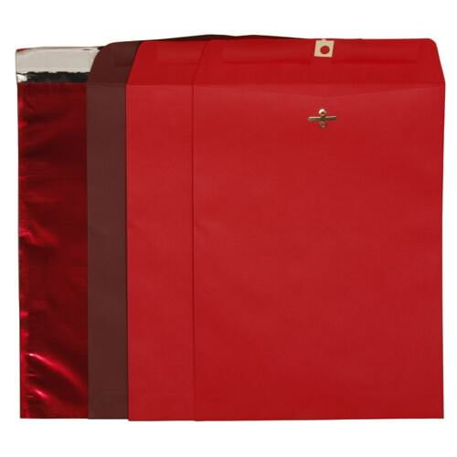 Red 9 x 12 Envelopes