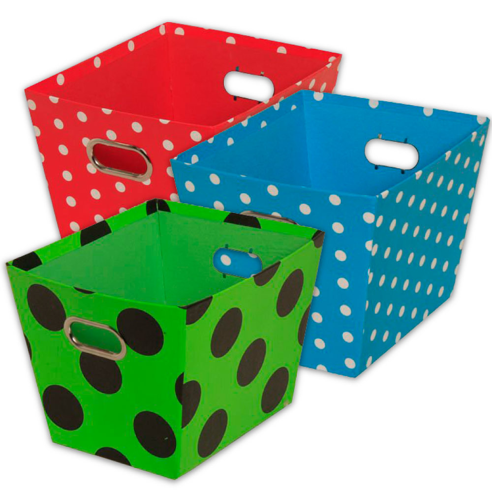 Polka Dot Baskets