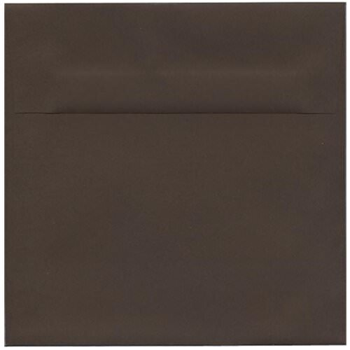 Brown 7 1/2 x 7 1/2 Square Envelopes