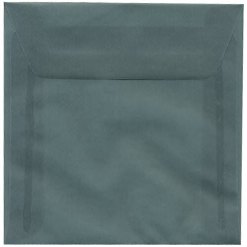 Silver & Grey 5 1/2 x 5 1/2 Square Envelopes