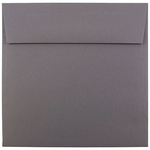 Silver & Grey Square 6 1/2 x 6 1/2 Envelopes