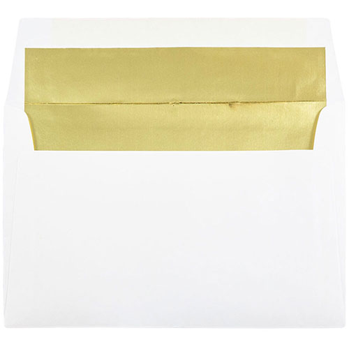 Gold A9 Envelopes - 5 3/4 x 8 3/4
