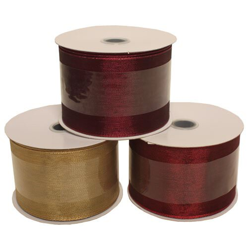 Wide Jumbo Sheer Ribbon Rolls  - 2.5 inches wide