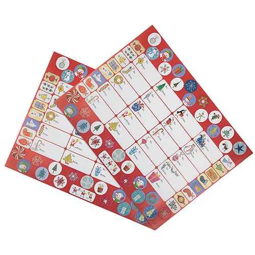 Large Sheets of To From Stickers